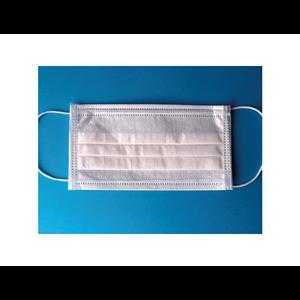 Chirurgická ústenka třívrstvá STANDARD s gumičkami - 100 KS V BALENÍ