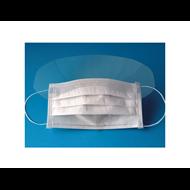 Chirurgická ústenka třívrstvá STANDARD s ochranným štítem - 25 KS V BALENÍ