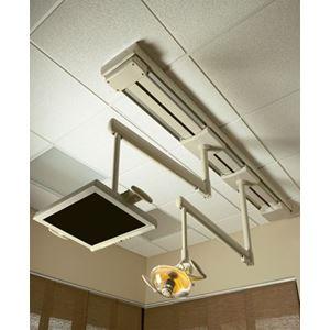 Stomatologické světlo stropní s monitorem