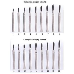 Chirurgický skalpel